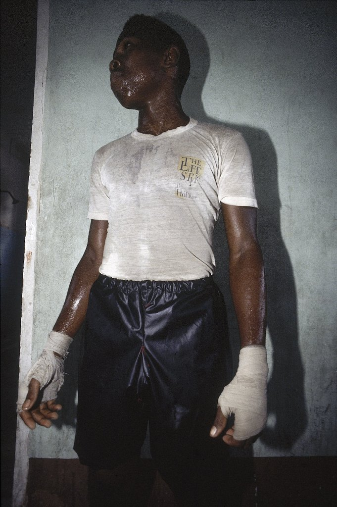 Young Boxer in Cuba