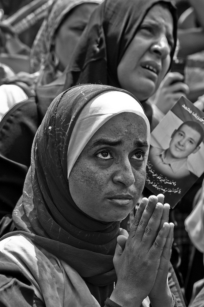 """faces of hope"", friday july 1st 2011 at tahrir square in cairo"